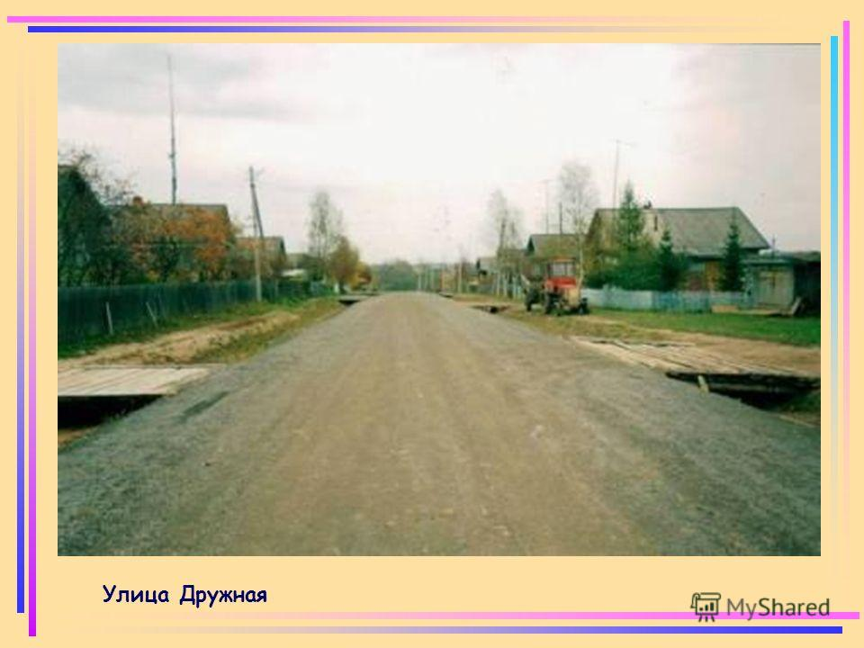 Улица Дружная