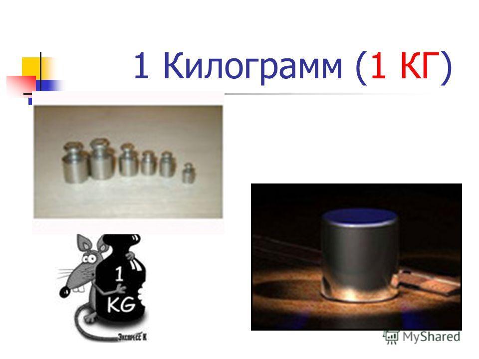 1 Килограмм (1 КГ)
