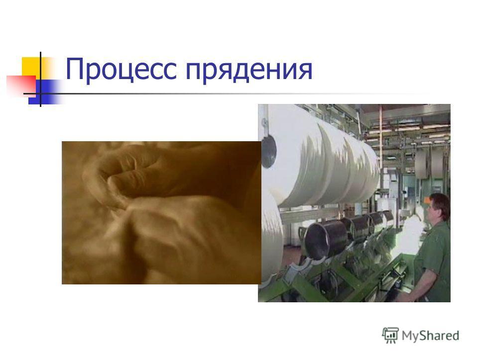 Процесс прядения