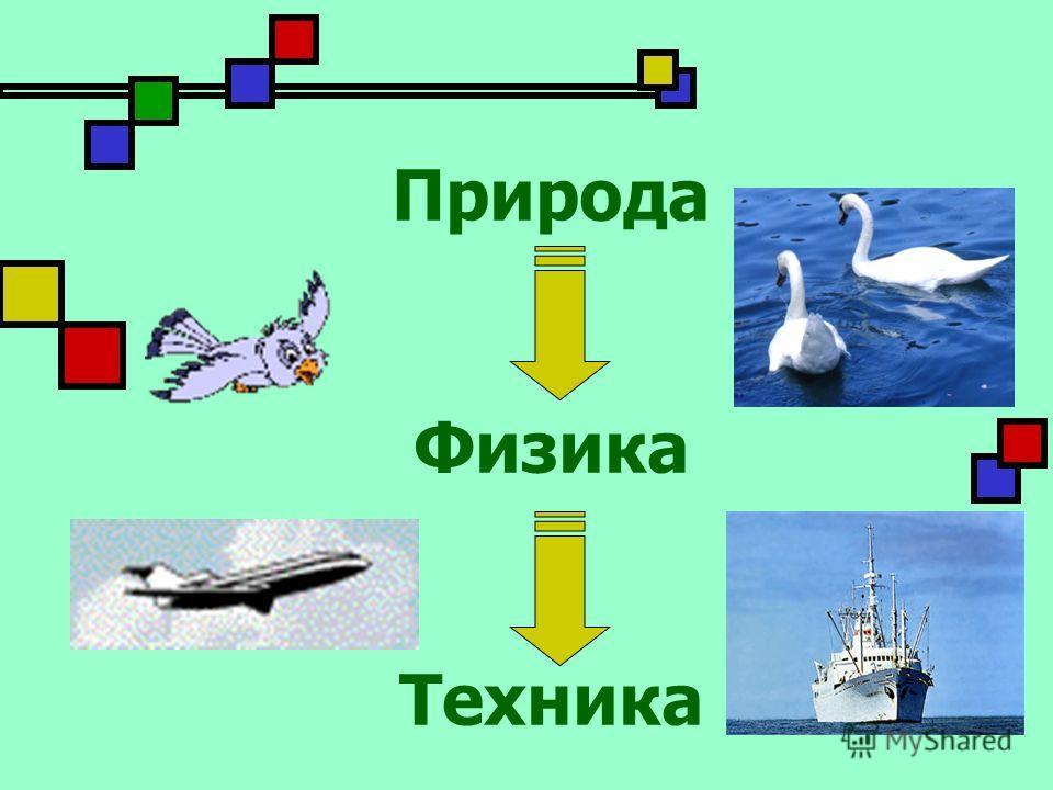 Природа Физика Техника