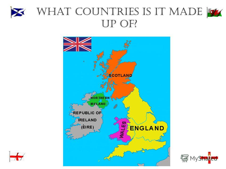 What countries is it made up of?