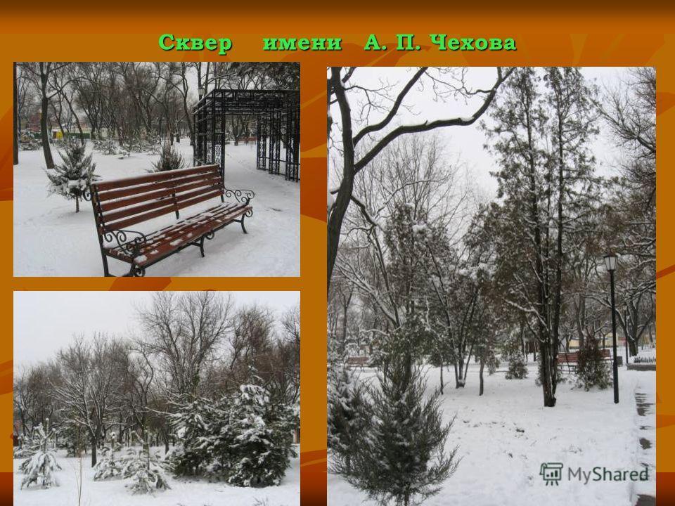 Сквер имени А. П. Чехова