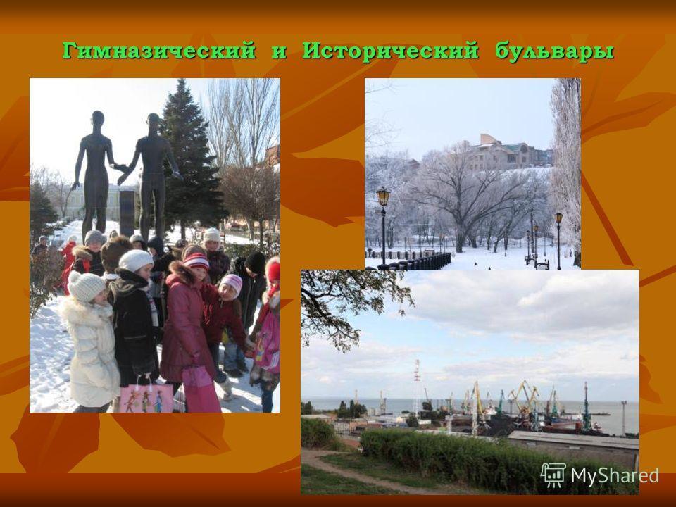 Гимназический и Исторический бульвары