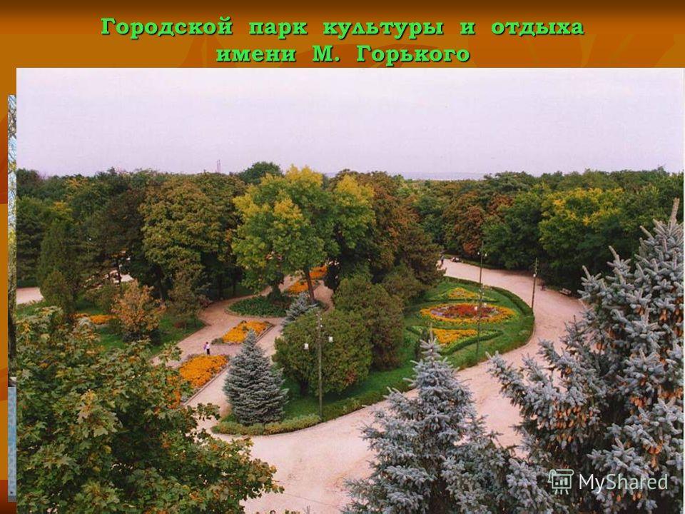 Городской парк культуры и отдыха имени М. Горького