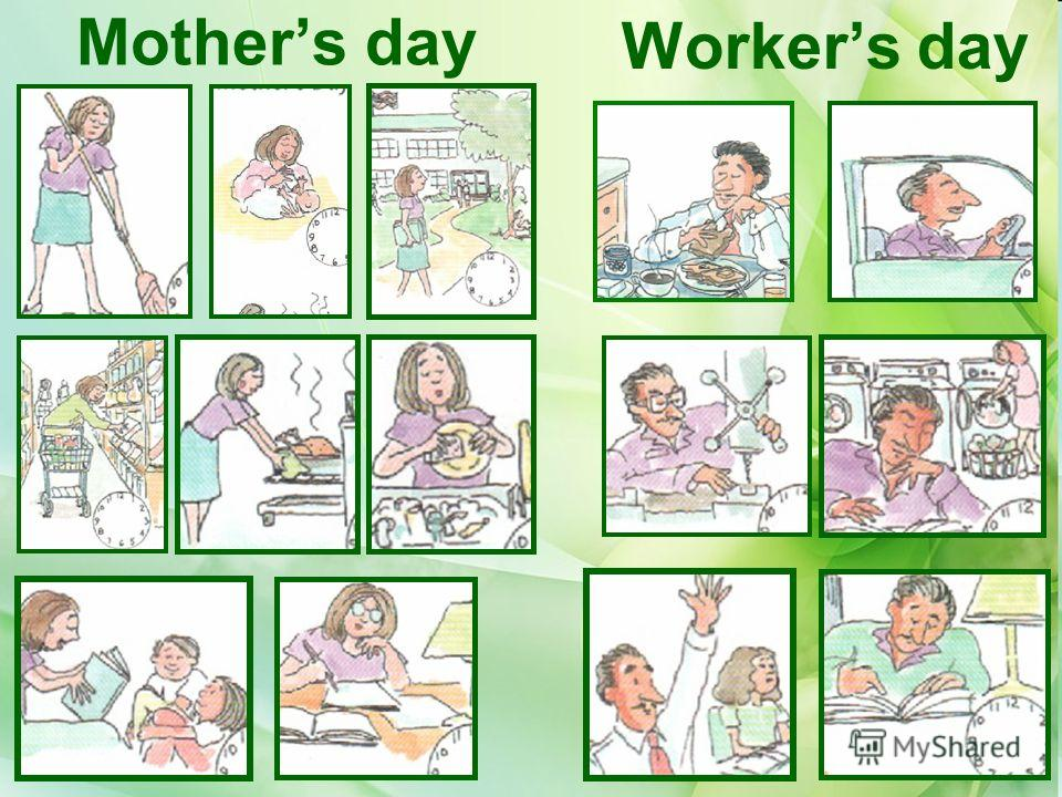Mothers day Workers day