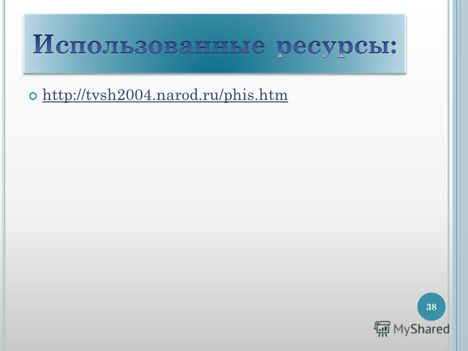 http://tvsh2004.narod.ru/phis.htm 38