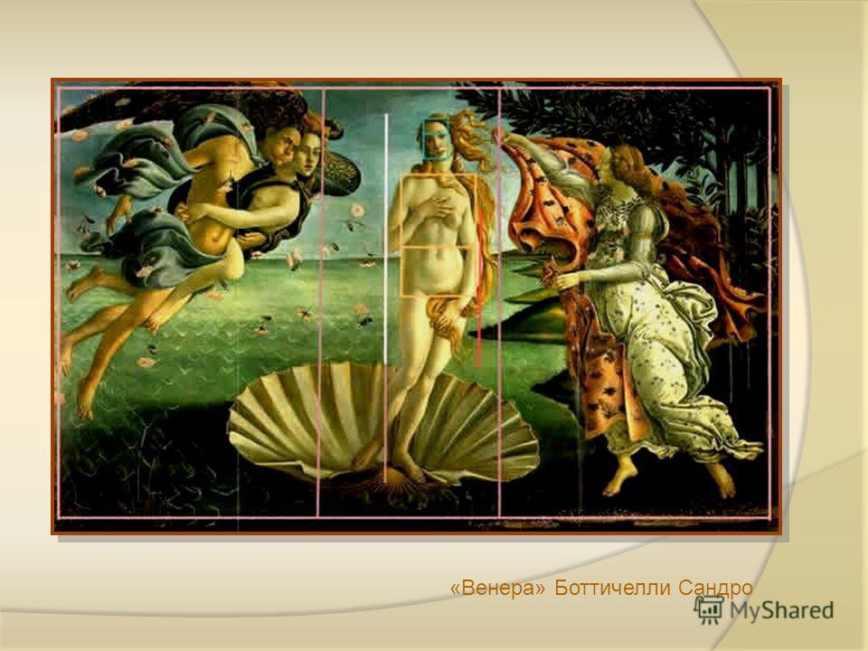 «Венера» Боттичелли Сандро
