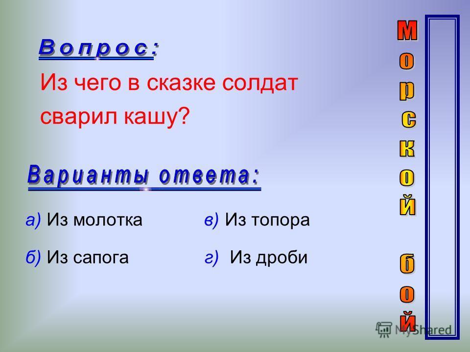 Кто из известных русских полководцев сказал: «Тяжело в ученье – легко в бою» а) Кутузов в) Чапаев б) Жуков г) Суворов