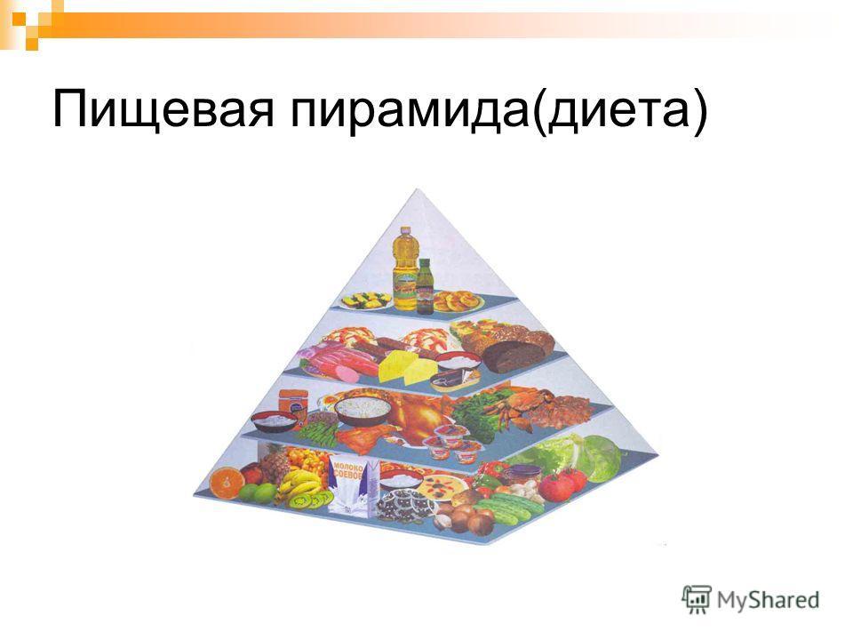 Пищевая пирамида россиян