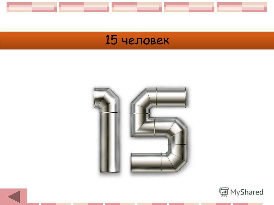 15 человек