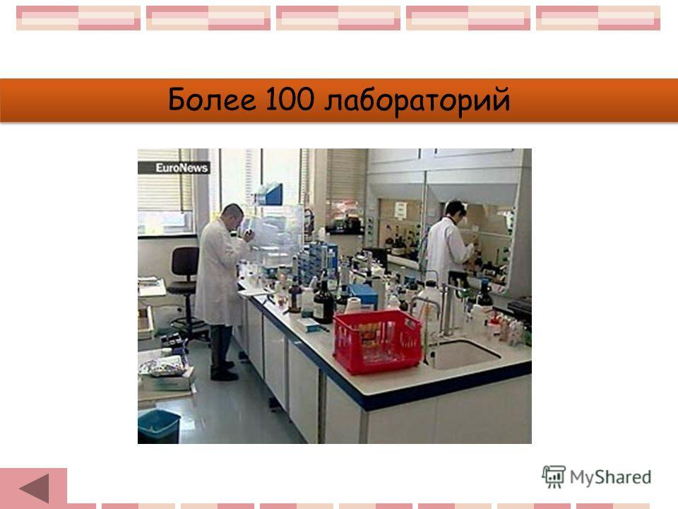 Более 100 лабораторий
