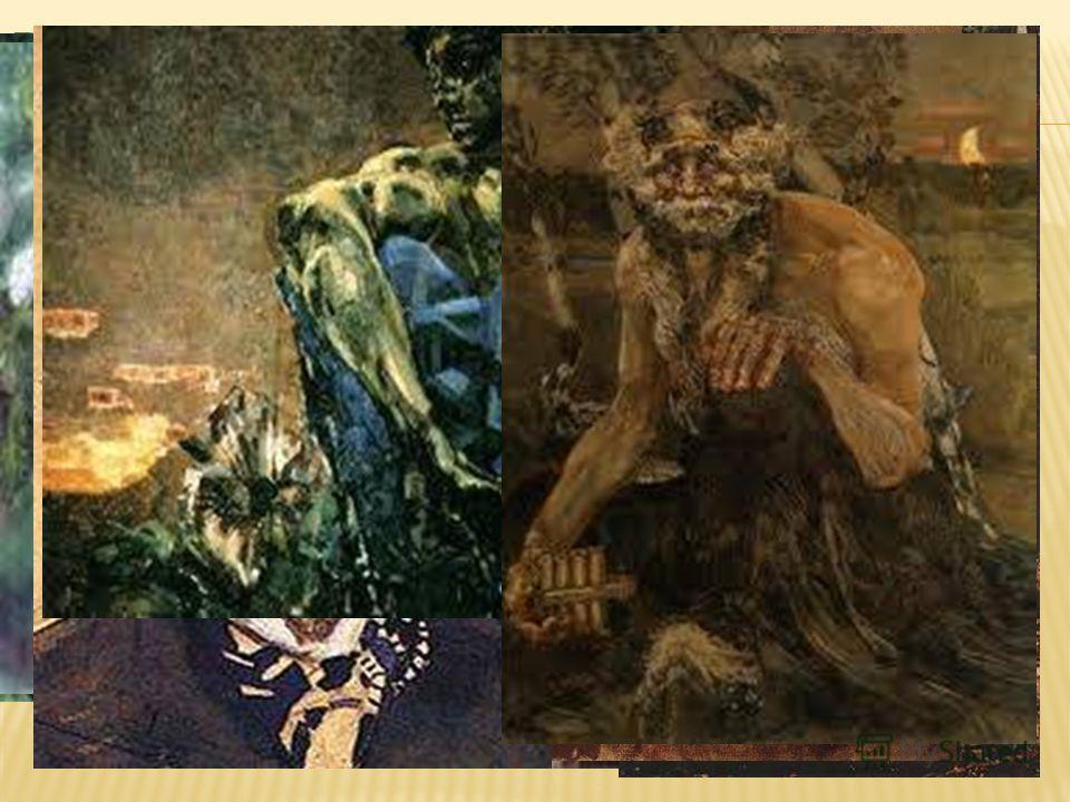 в импрессионистских полотнах В.А.Серова и К.А.Коровина в символистских картинах М.А.Врубеля