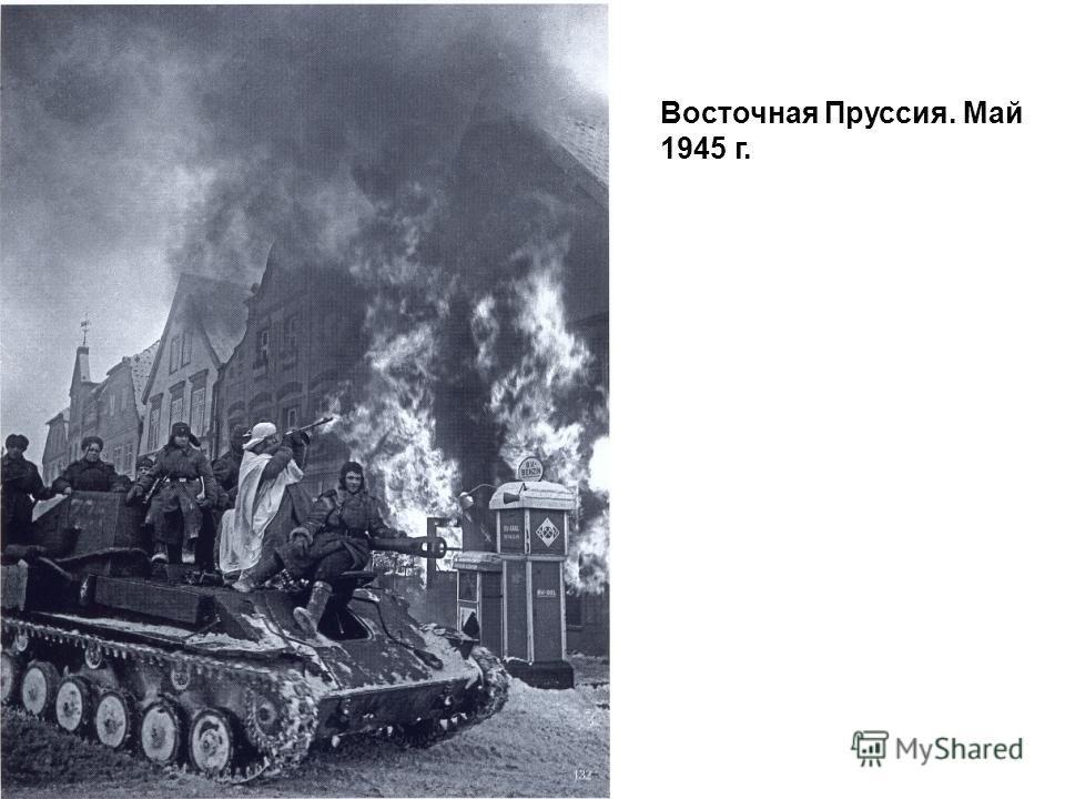 Восточная Пруссия. Май 1945 г.