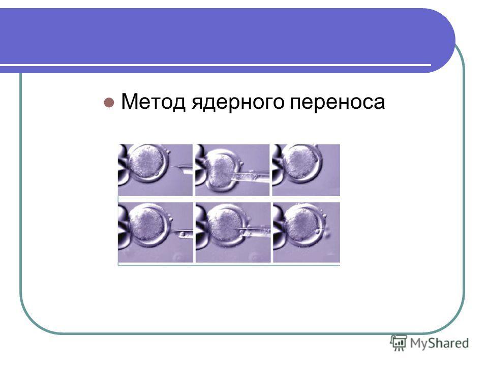 Метод ядерного переноса