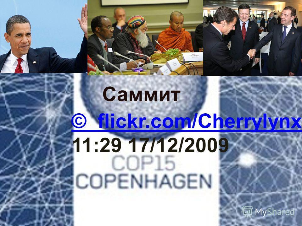 © flickr.com/Cherrylynx 11:29 17/12/2009 Саммит