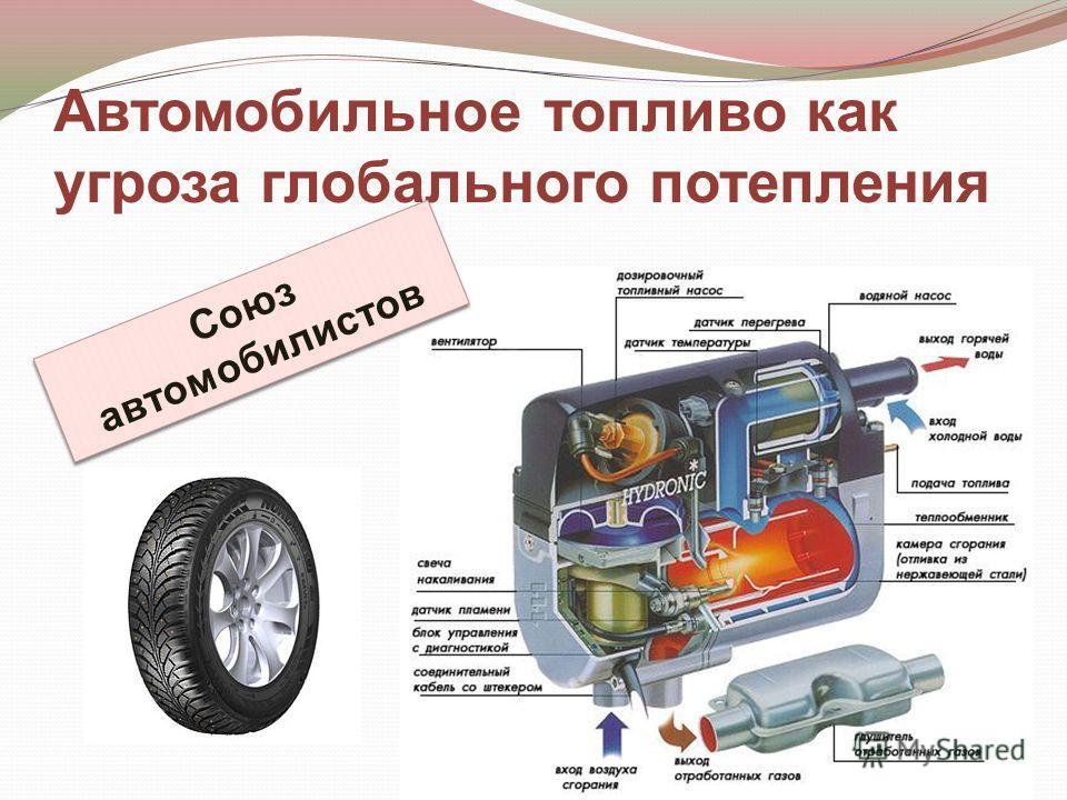 Автомобильное топливо как угроза глобального потепления Союз автомобилистов
