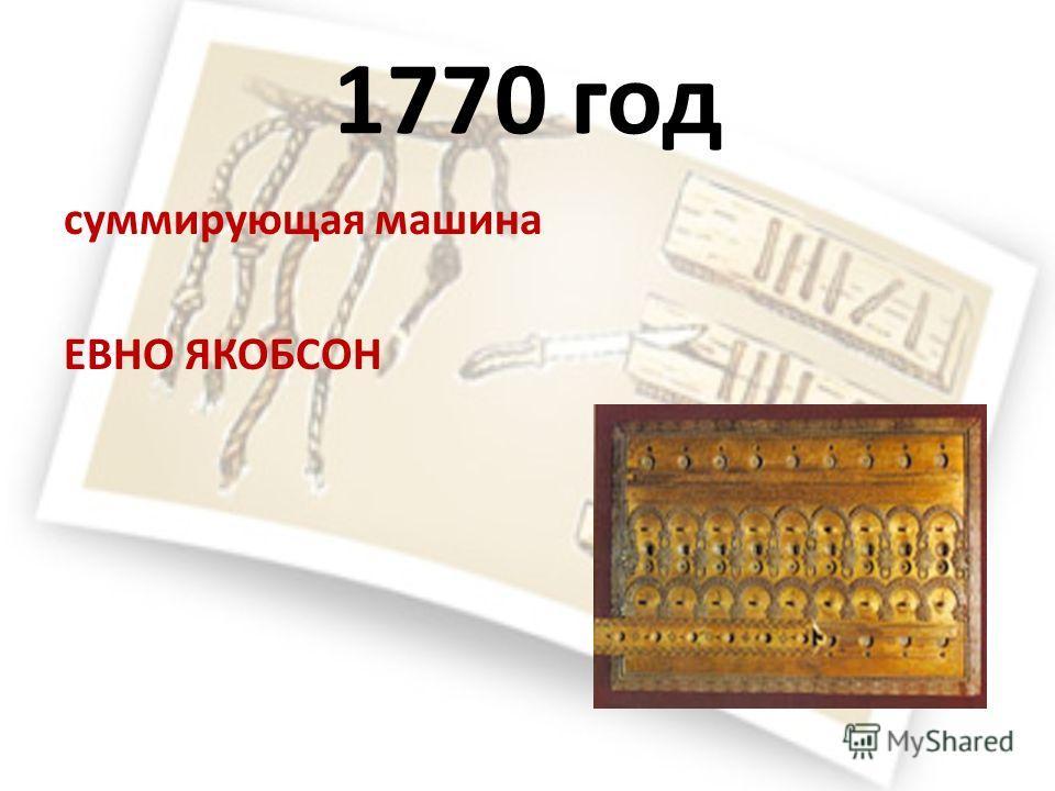 1727 год ДЖАКОБ ЛЕОПОЛЬД первая в мире монография по вычислительной технике.