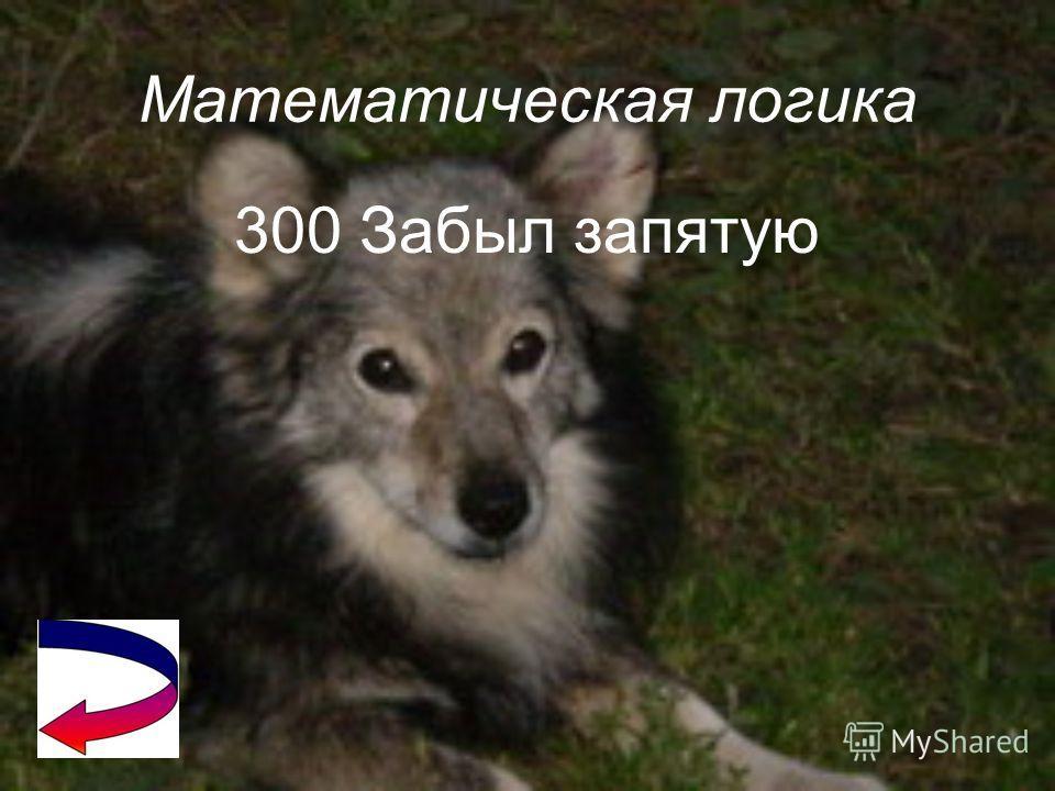 Математическая логика 200 40