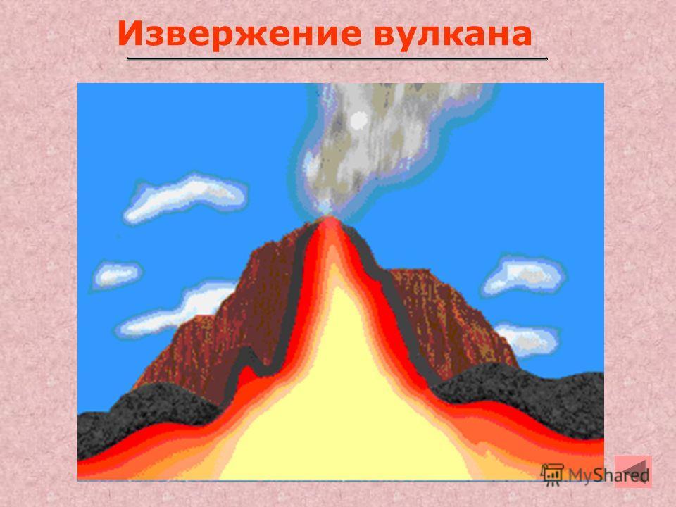 4 Извержение вулкана