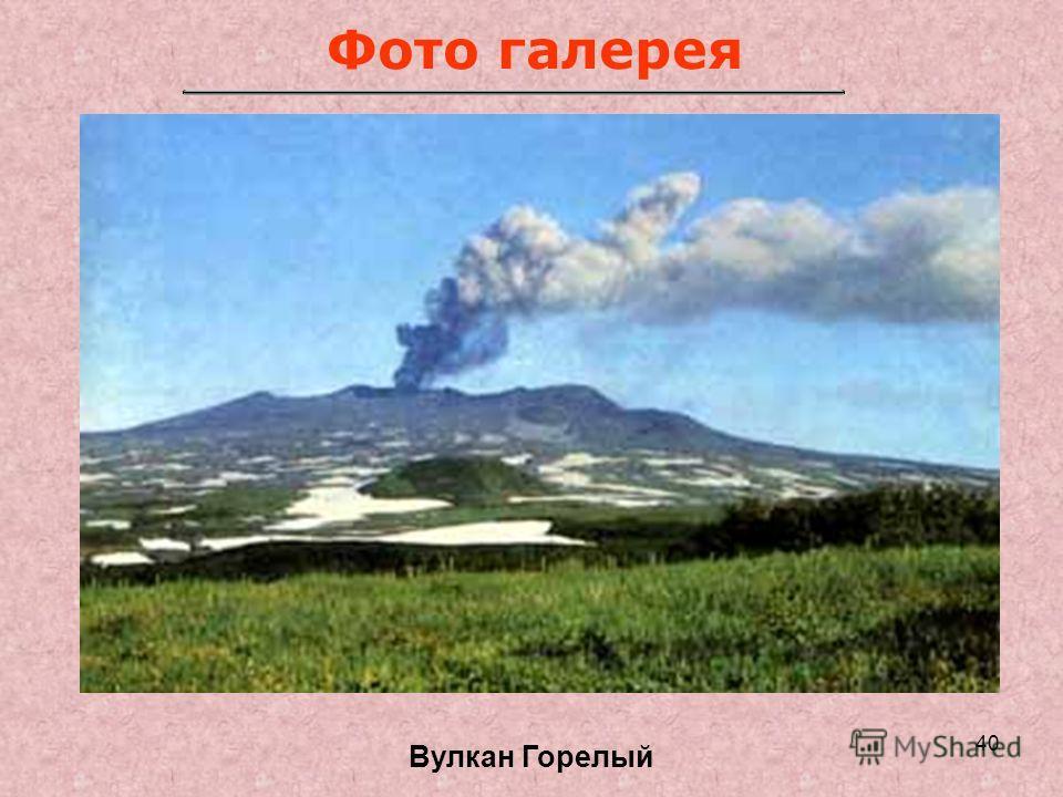 40 Фото галерея Вулкан Горелый