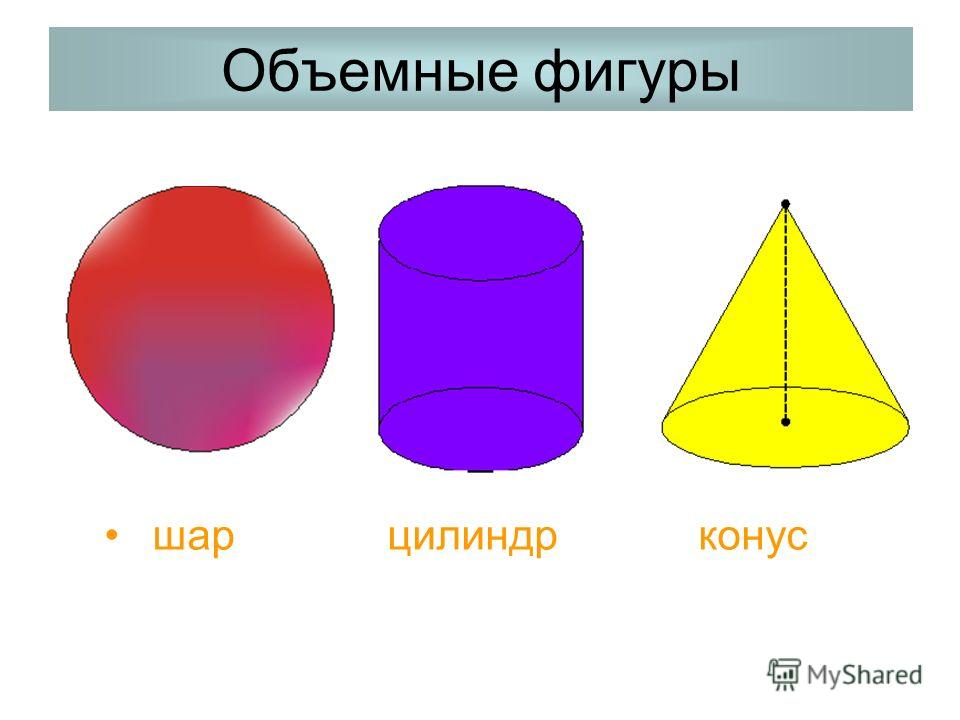 Объемные И Плоские Фигуры 2 Класс Презентация