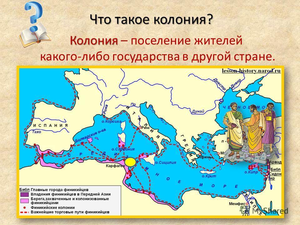 Что такое колония? Колония Колония – поселение жителей какого-либо государства в другой стране.