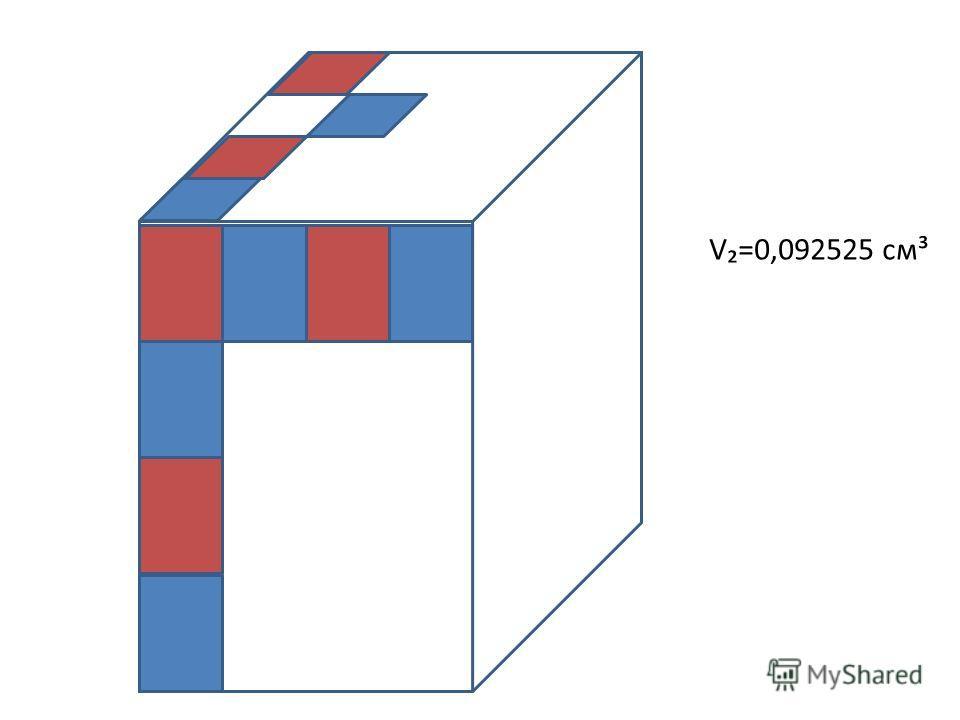 V=0,092525 см³
