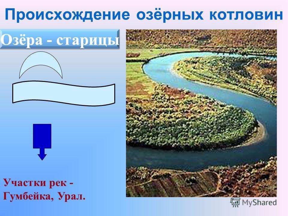 Участки рек - Гумбейка, Урал.