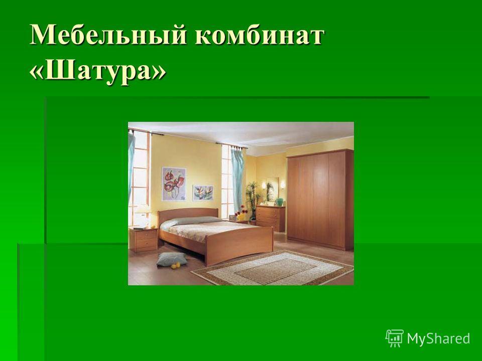 Мебельный комбинат «Шатура»