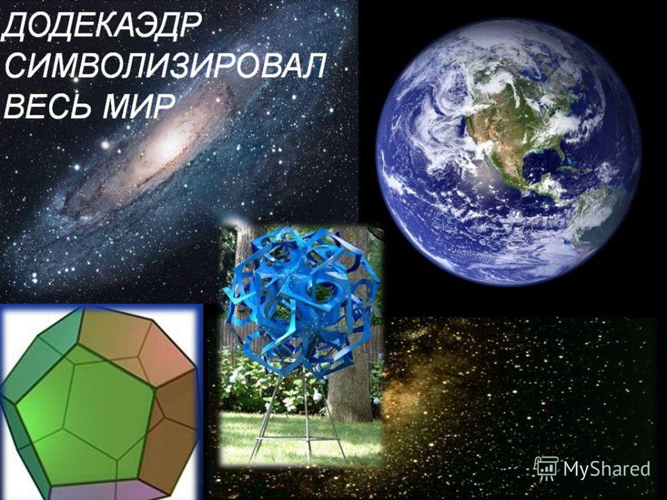тетраэдроктаэдрдодекаэдрикосаэдргексаэдр Виды правильных многогранников