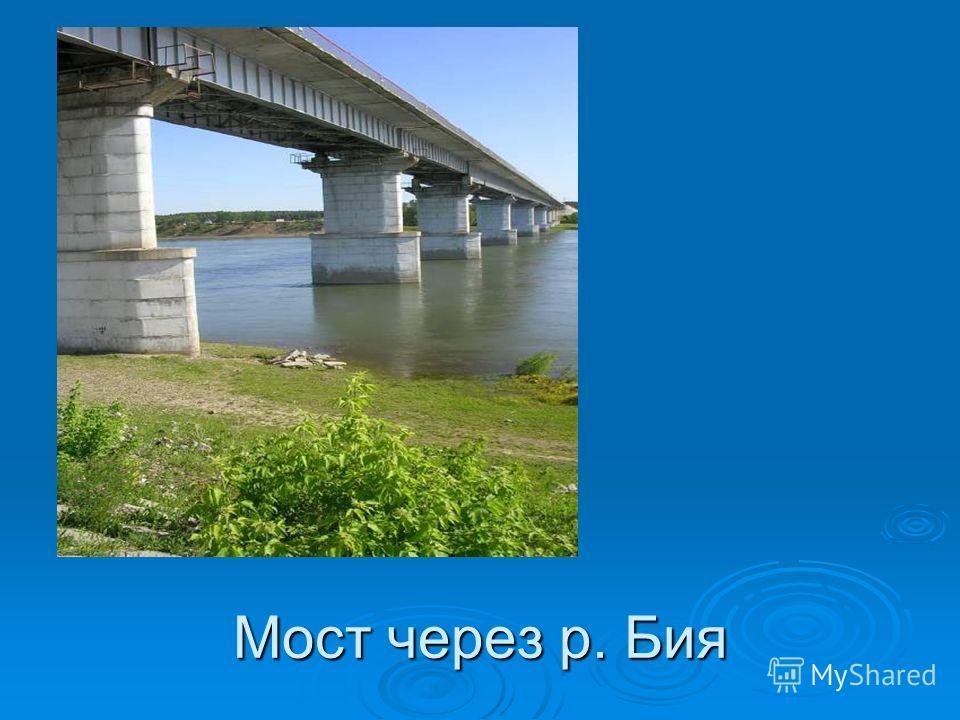 Мост через р. Бия
