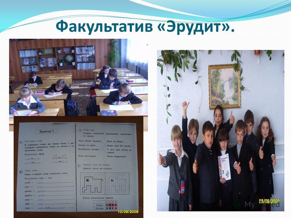 Факультатив «Эрудит».