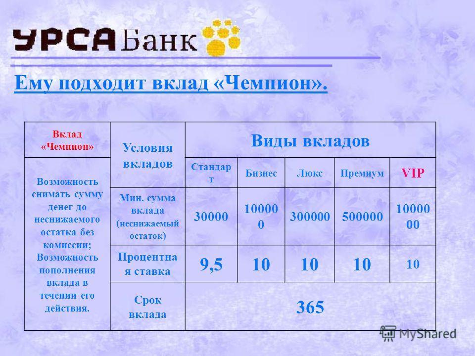 Задача 4 Фермер вкладывает 1000000 руб., рассчитывая удвоить эту сумму через 5 лет. Сможет ли он это сделать?