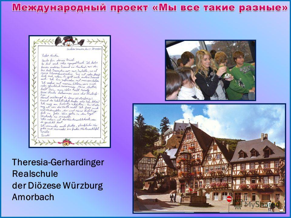 Theresia-Gerhardinger Realschule der Diözese Würzburg Amorbach