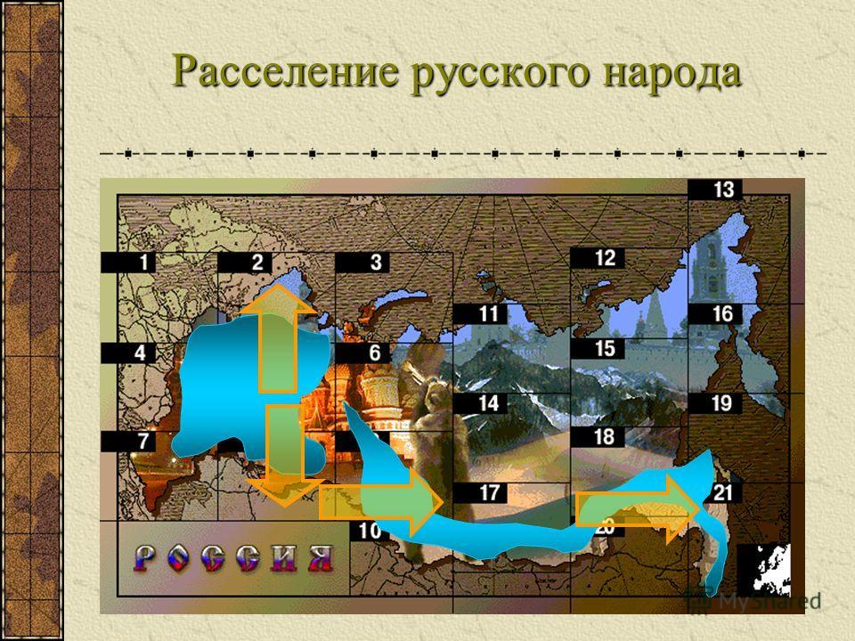 Расселение русского народа