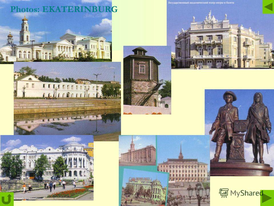 Photos: EKATERINBURG