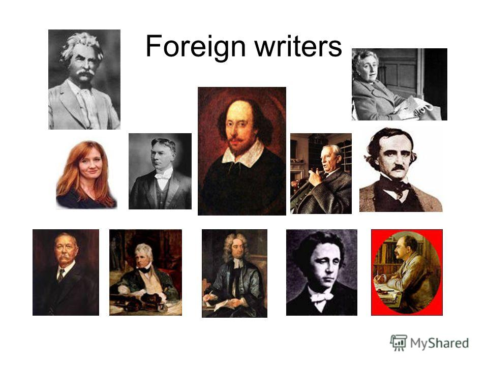 Foreign writers