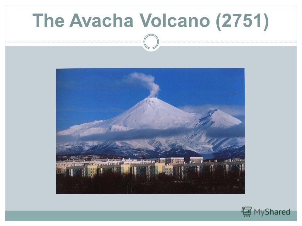The Avacha Volcano (2751)