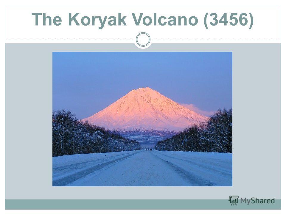 The Koryak Volcano (3456)