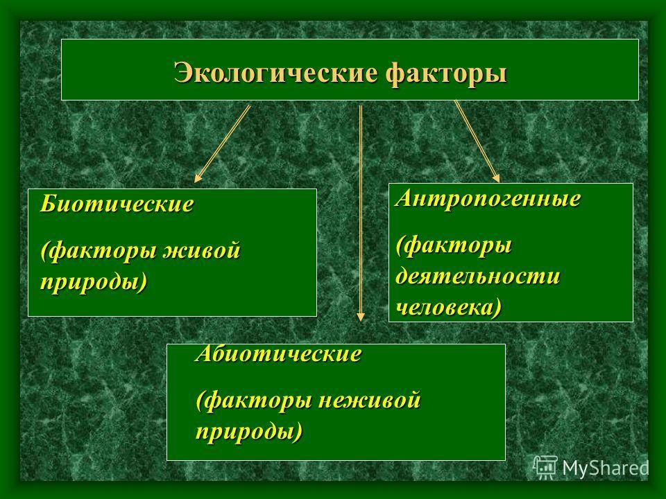 Среда обитания Среда обитания - часть природы, в которой живёт организм часть природы, в которой живёт организм. наземно - воздушная 1.2. Почвенная1.2. Водная1.2. организм хозяина 1.2.
