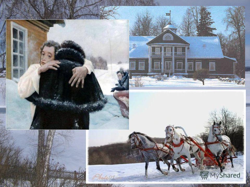 Михайловское в снегу