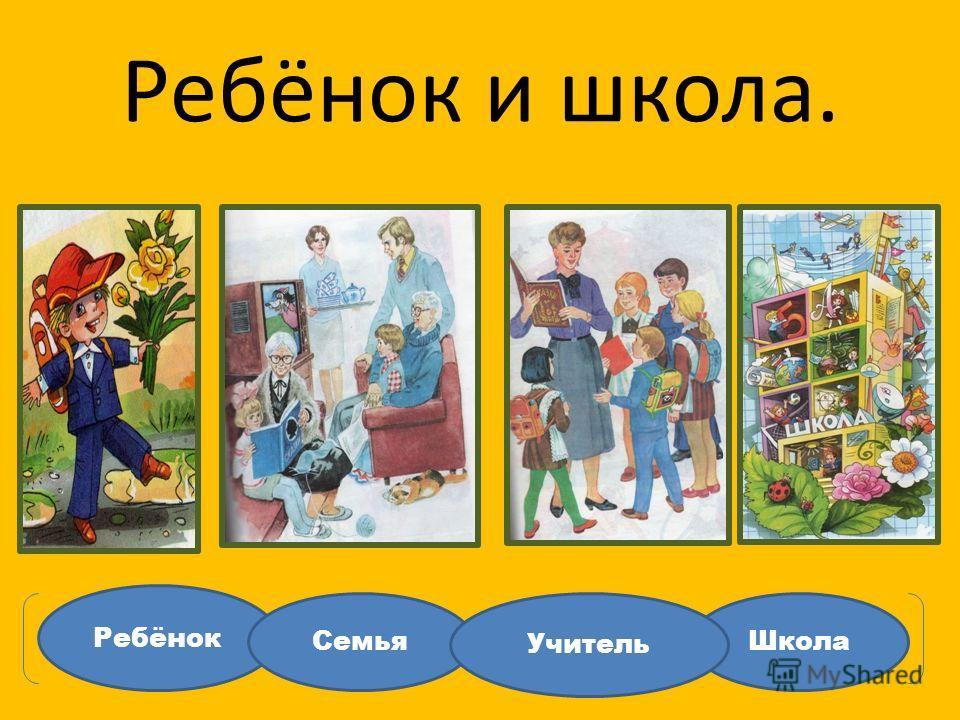 Ребёнок и школа. Ребёнок ШколаСемья Учитель