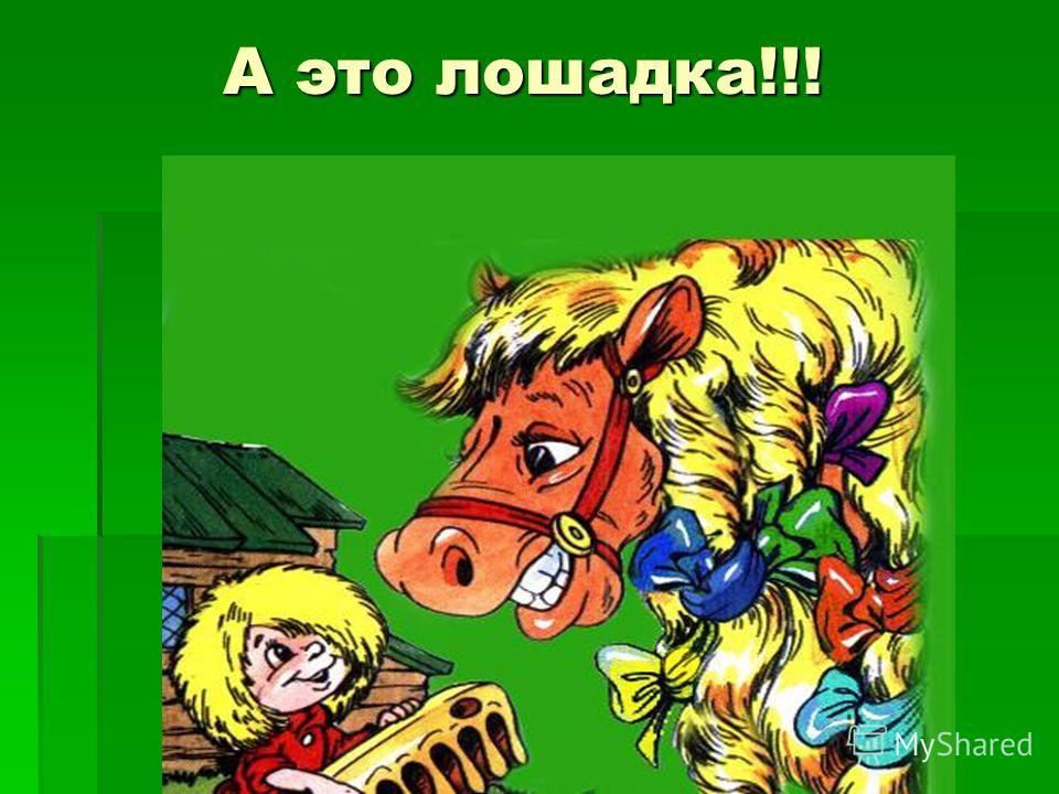 А это лошадка!!!