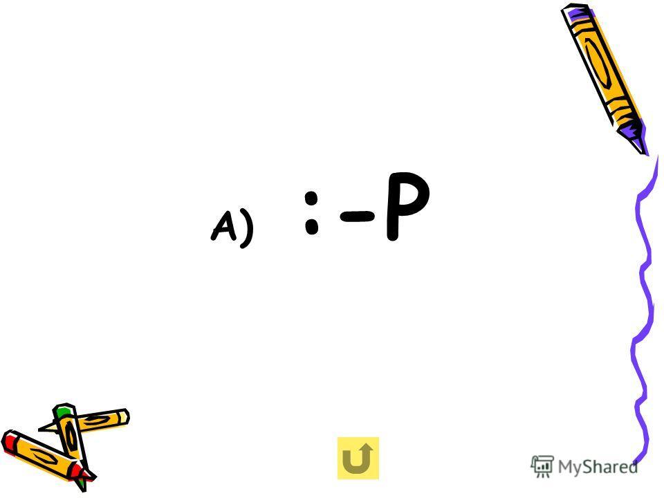 А) :-Р