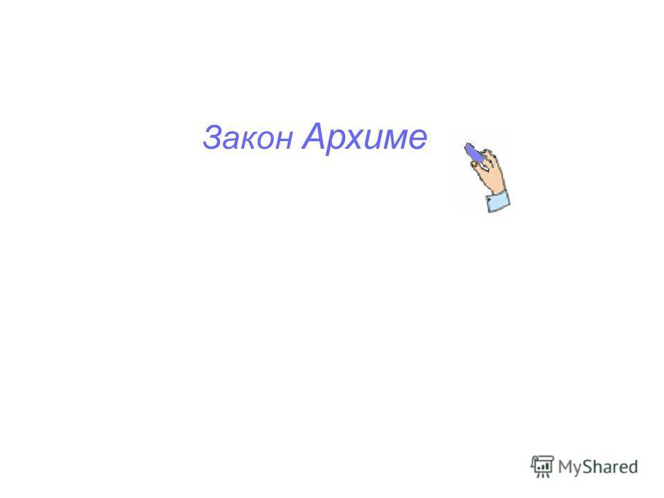 Закон Архиме