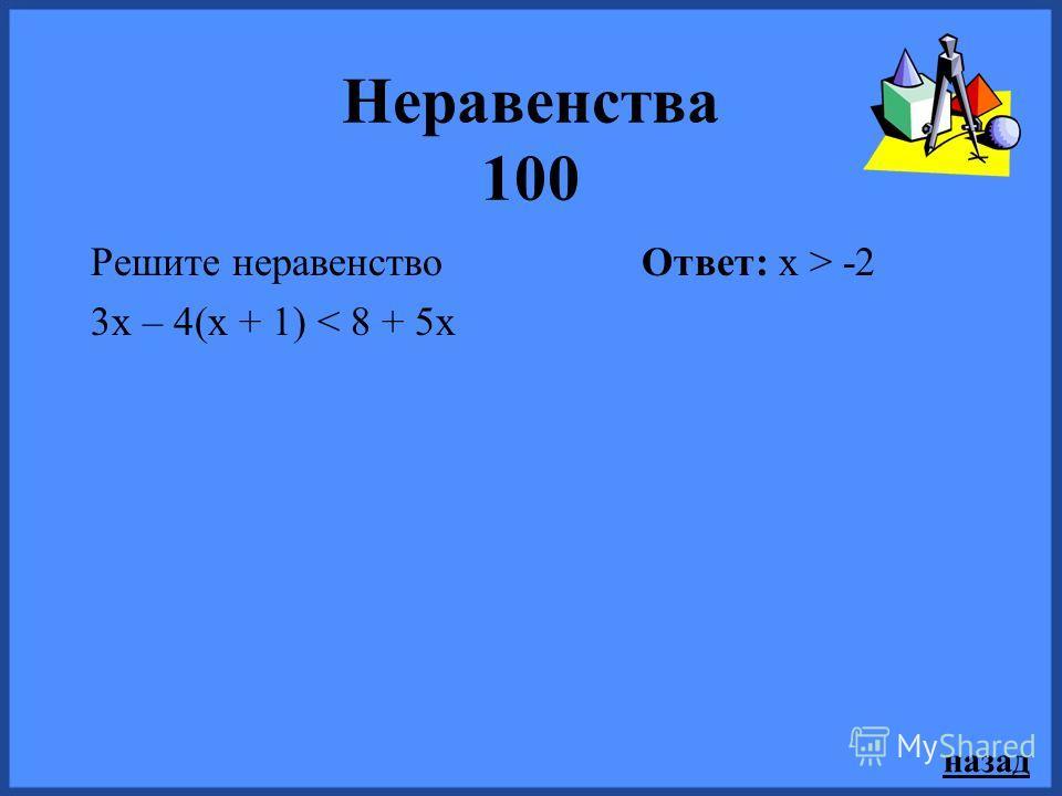 назад Функции и графики 500 Парабола y= - х 2 + ах + в пересекает ось абсцисс в точке (-5; 0), а ось ординат в точке (0;5). Найдите а и в. Ответ: а= - 4, в = 5