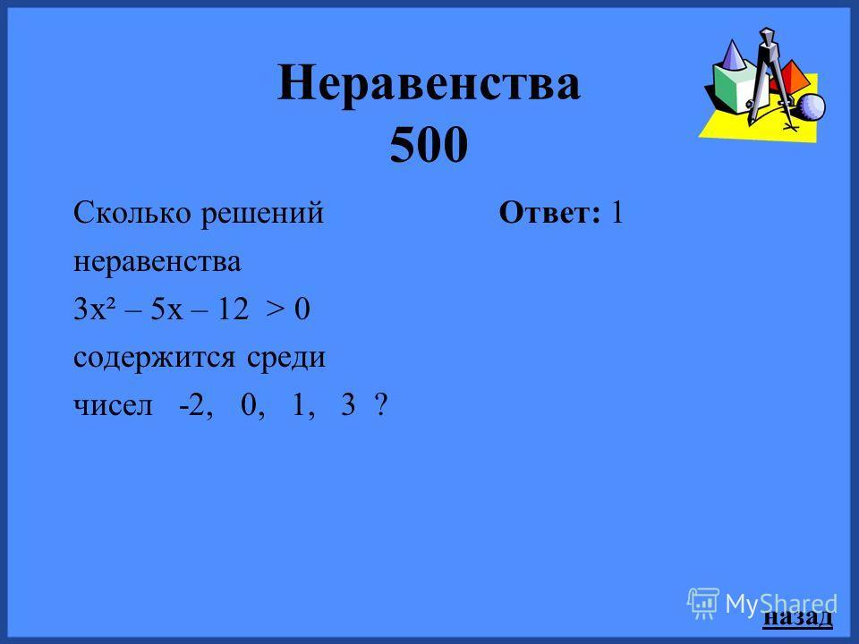 назад Неравенства 300 При каких значениях параметра m уравнение 4х² – 2mх + 9 =0 не имеет корней? Ответ: -6 < m < 6