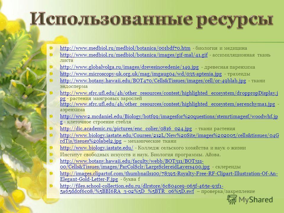 http://www.medbiol.ru/medbiol/botanica/001bdf70.htmhttp://www.medbiol.ru/medbiol/botanica/001bdf70.htm - биология и медицина http://www.medbiol.ru/medbiol/botanica/images/gif-mal/41.gifhttp://www.medbiol.ru/medbiol/botanica/images/gif-mal/41.gif - ас