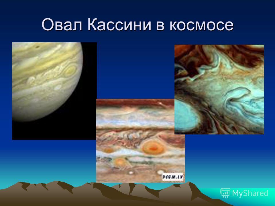 Овал Кассини в космосе