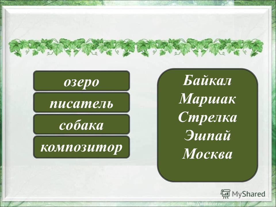 Байкал Маршак Стрелка Эшпай Москва озеро писатель композитор собака